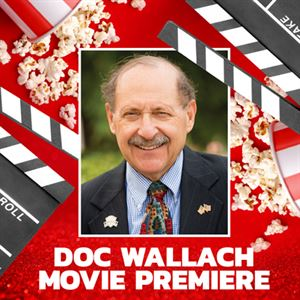 Picture of Doc Wallach Movie Premiere
