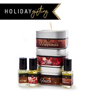 Picture of Holiday Candle Trio